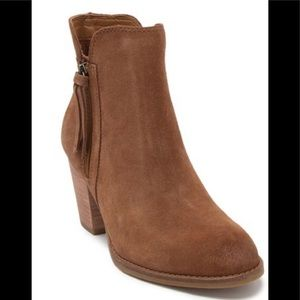 Frye BRAND NEW IN BOX suede ankle boots